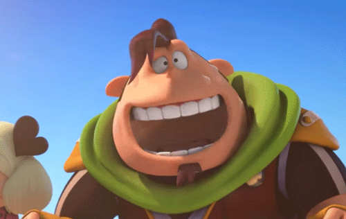 ペペロンの笑顔
