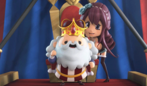 オーサマのガッツポーズとメローラ姫